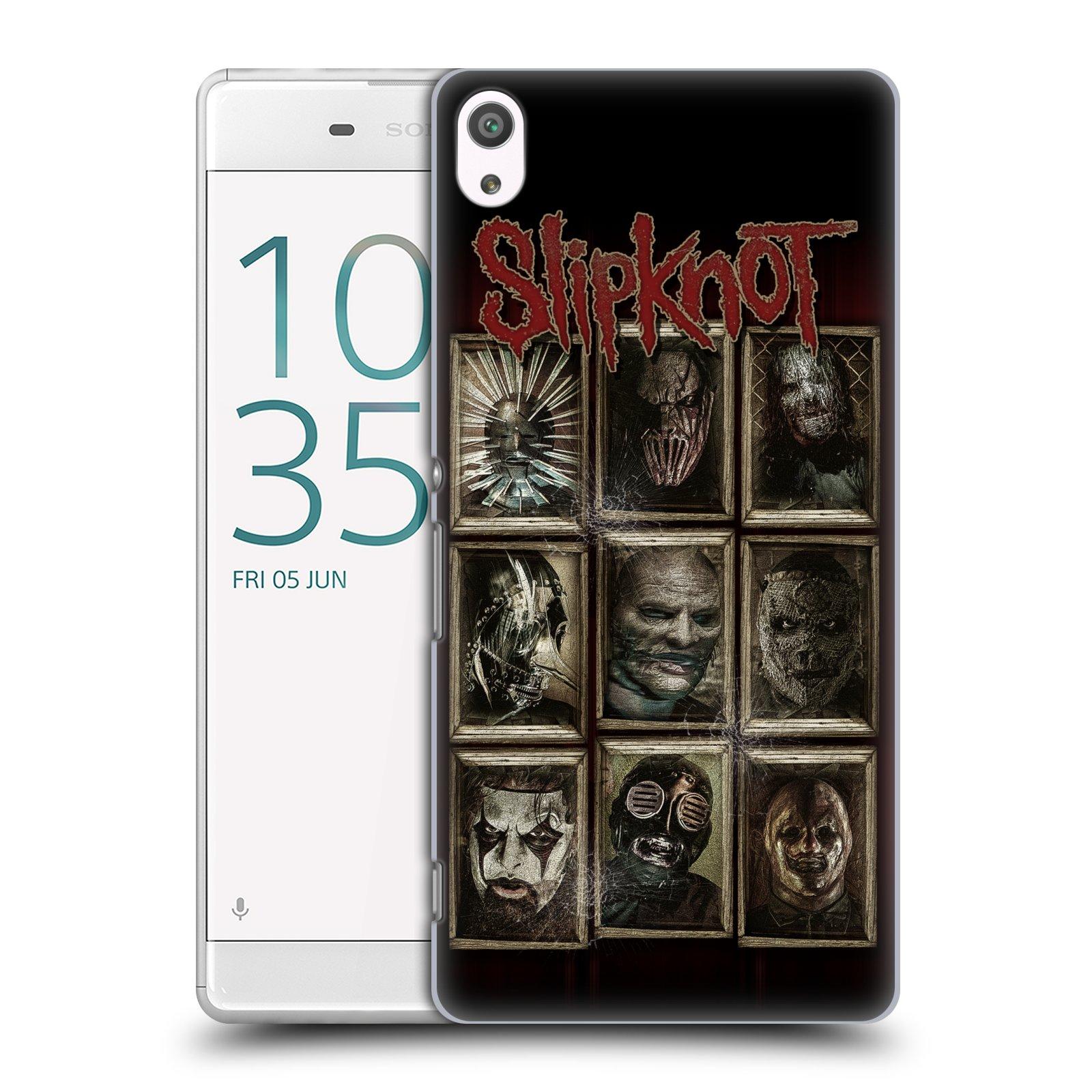 Plastové pouzdro na mobil Sony Xperia XA Ultra HEAD CASE Slipknot - Masky