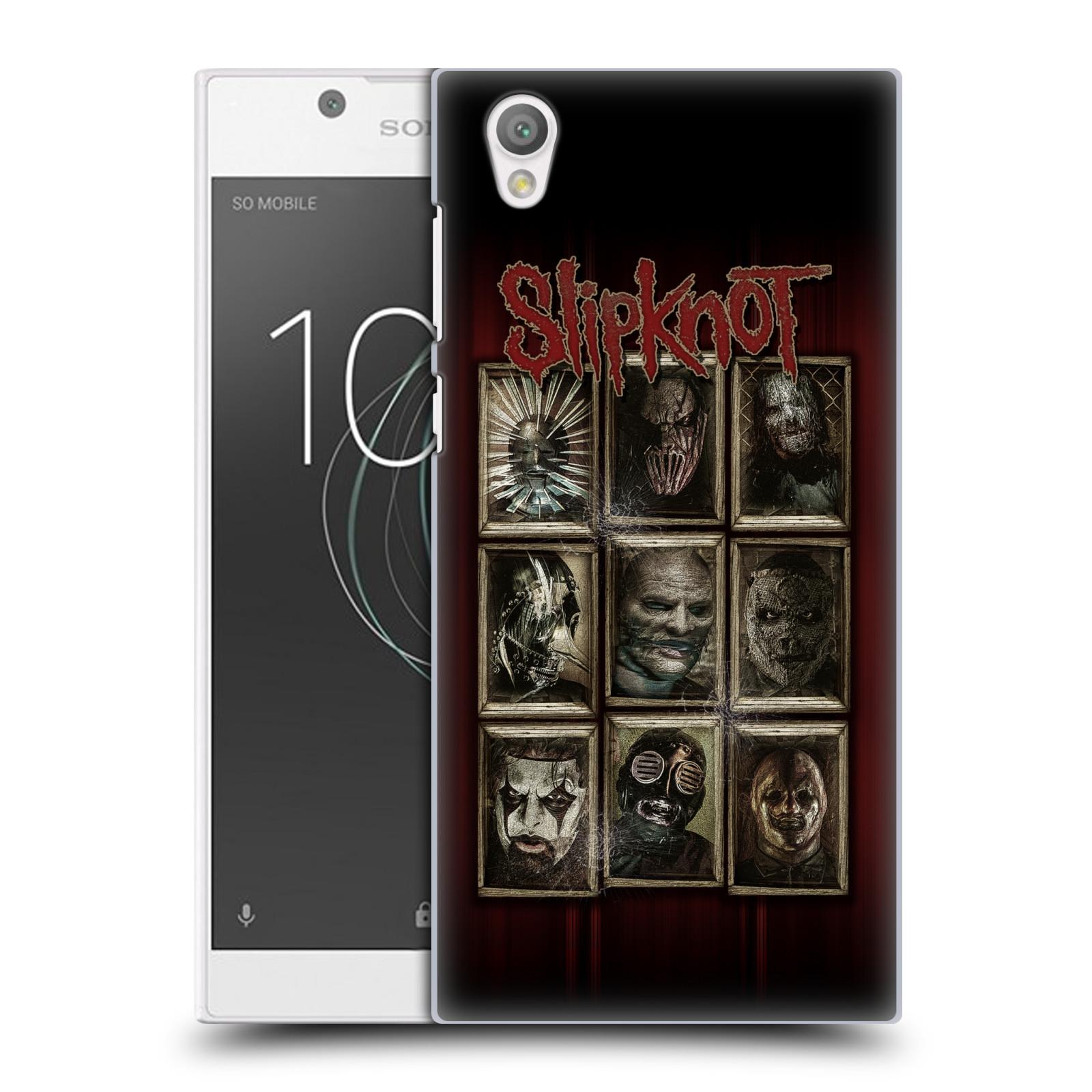 Plastové pouzdro na mobil Sony Xperia L1 - Head Case - Slipknot - Masky (Plastový kryt či obal na mobilní telefon Sony Xperia L1 G3311 s motivem Slipknot - Masky)