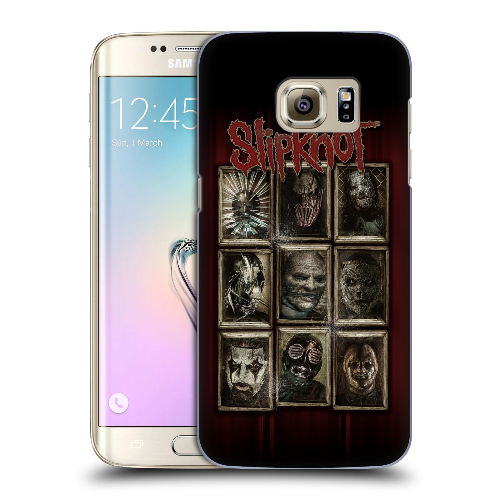 Plastové pouzdro na mobil Samsung Galaxy S7 Edge HEAD CASE Slipknot - Masky