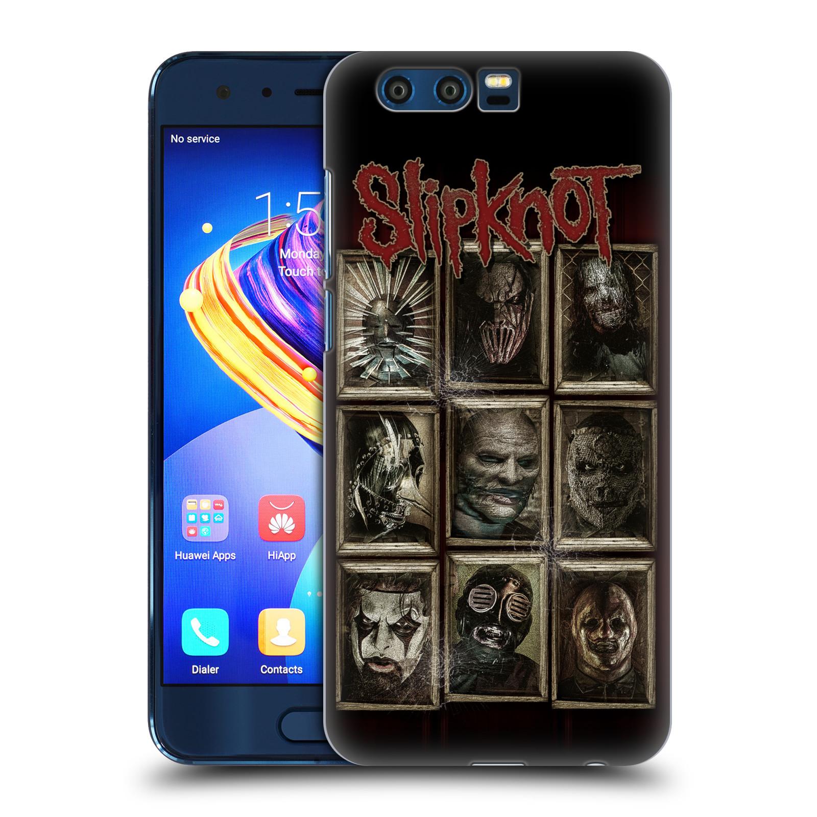 Plastové pouzdro na mobil Honor 9 - Head Case - Slipknot - Masky (Plastový kryt či obal na mobilní telefon Honor 9 s motivem Slipknot - Masky)