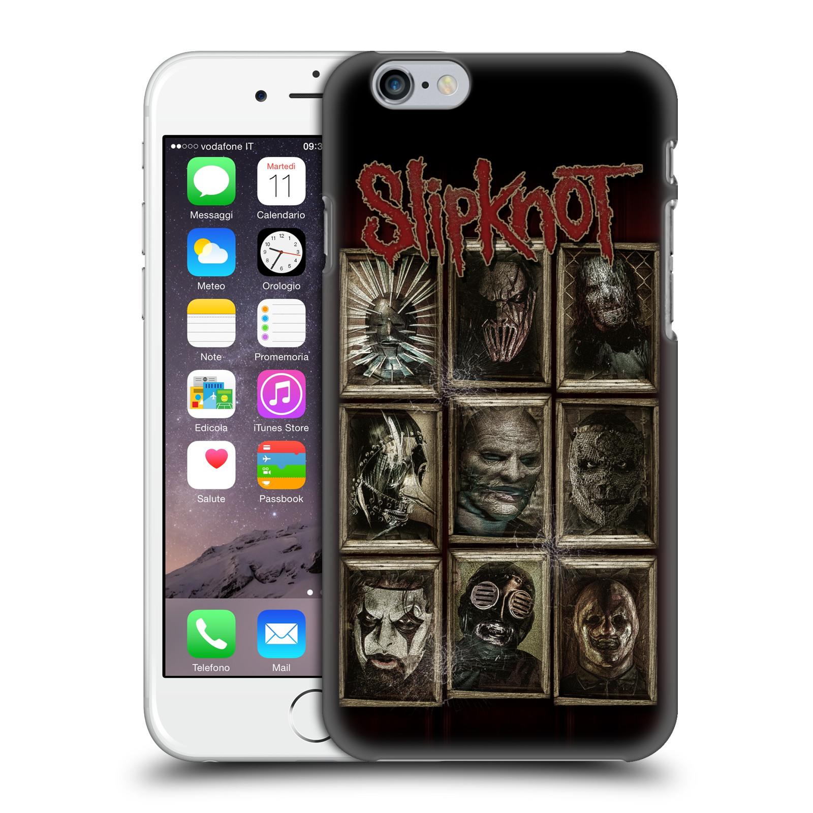 Plastové pouzdro na mobil Apple iPhone 6 HEAD CASE Slipknot - Masky