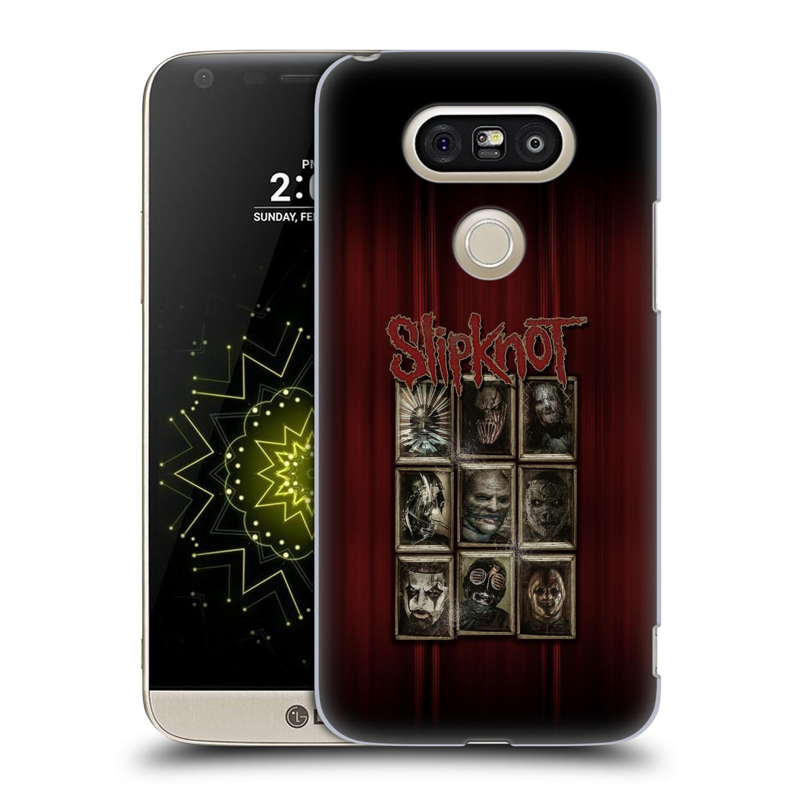 Plastové pouzdro na mobil LG G5 SE - Head Case - Slipknot - Masky (Plastový kryt či obal na mobilní telefon LG G5 SE H840 s motivem Slipknot - Masky)