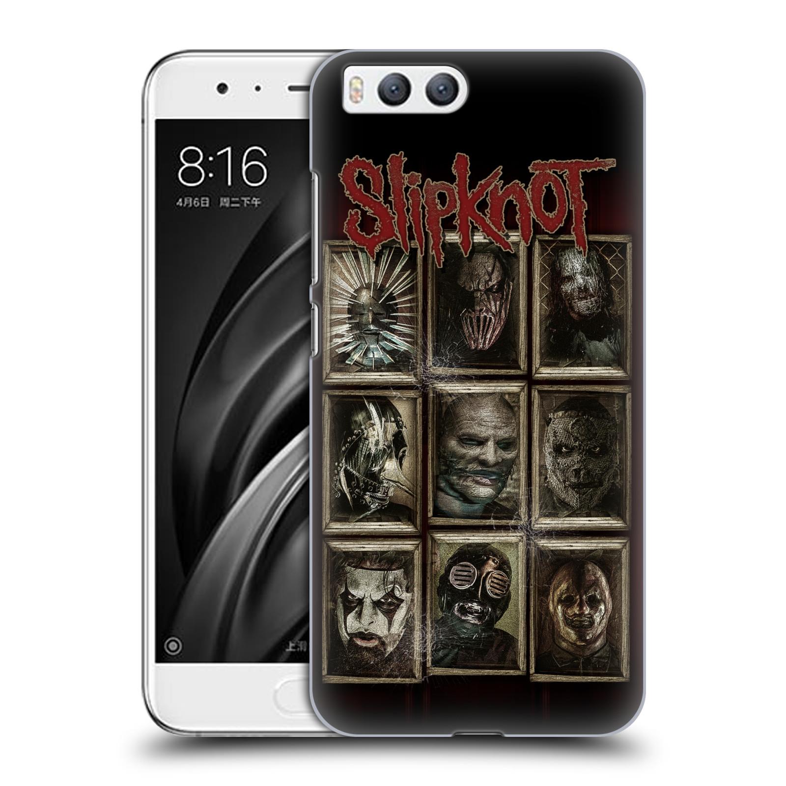 Plastové pouzdro na mobil Xiaomi Mi6 - Head Case - Slipknot - Masky (Plastový kryt či obal na mobilní telefon Xiaomi Mi6 s motivem Slipknot - Masky)