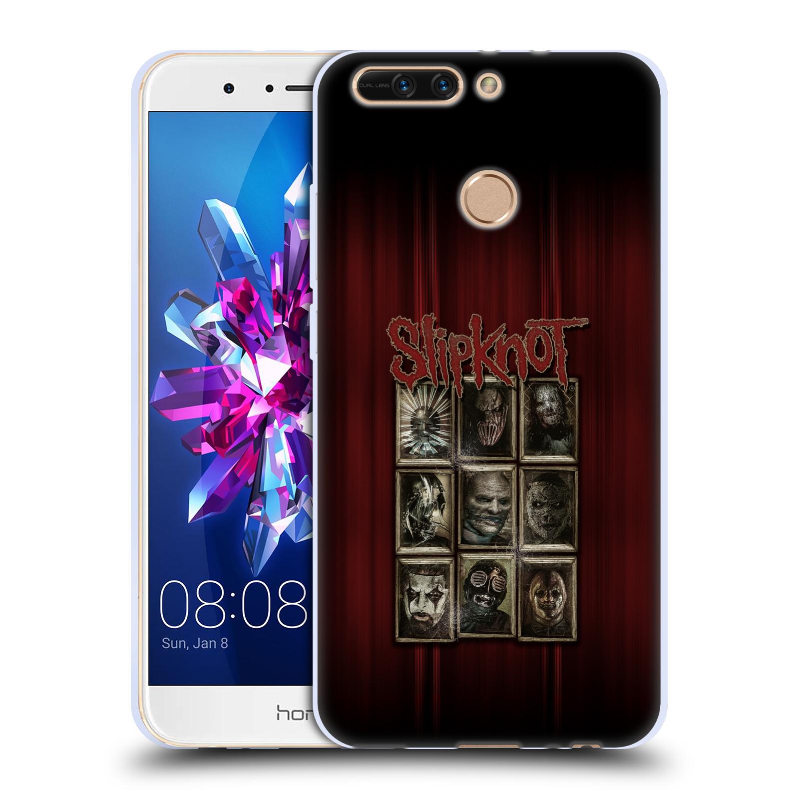 Silikonové pouzdro na mobil Honor 8 Pro - Head Case - Slipknot - Masky (Silikonový kryt či obal na mobilní telefon Honor 8 Pro s motivem Slipknot - Masky)