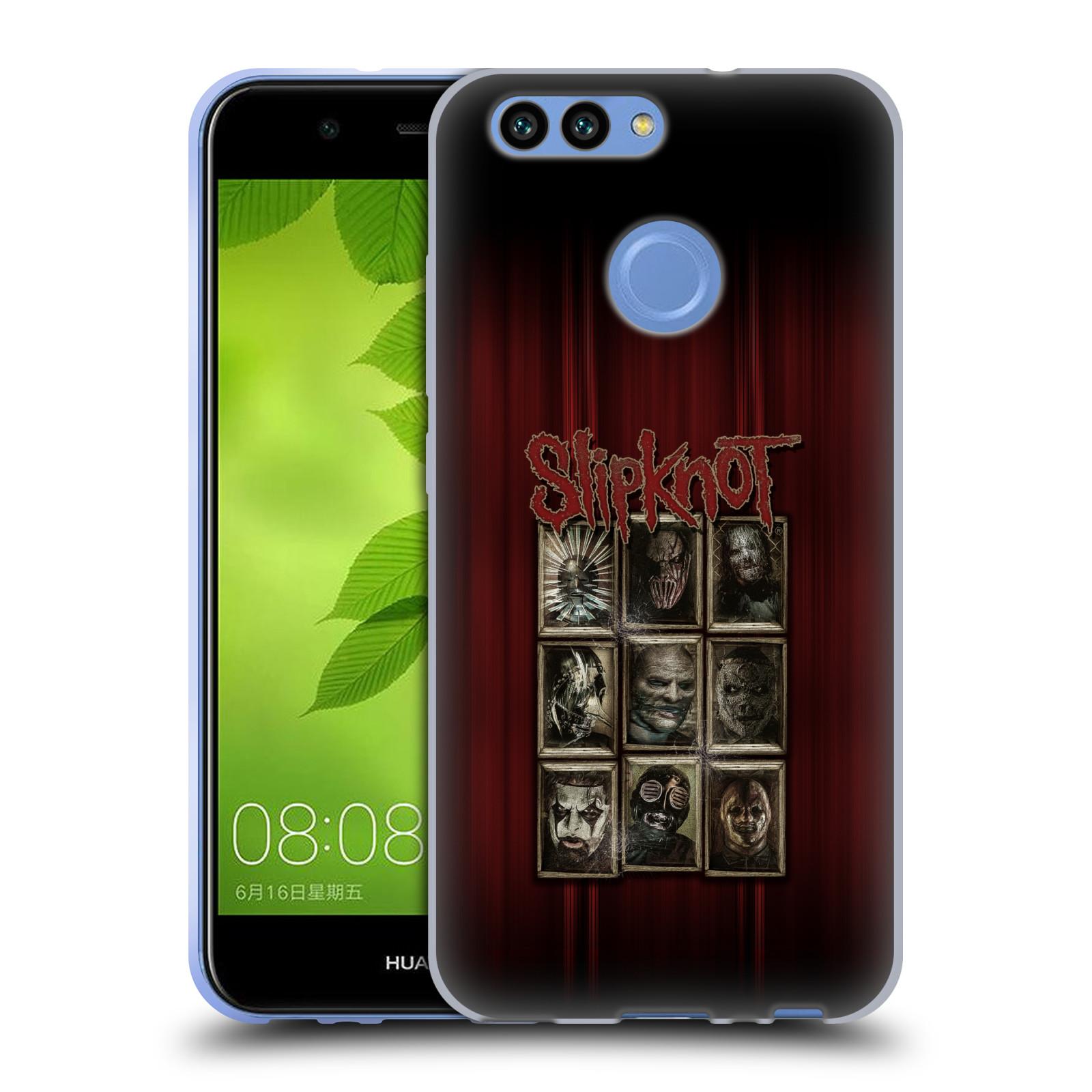 Silikonové pouzdro na mobil Huawei Nova 2 - Head Case - Slipknot - Masky (Silikonový kryt či obal na mobilní telefon Huawei Nova 2 s motivem Slipknot - Masky)
