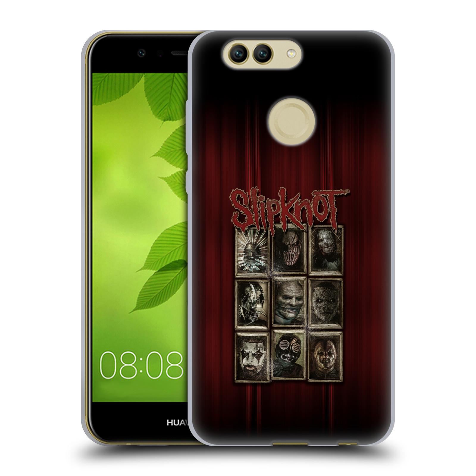 Silikonové pouzdro na mobil Huawei Nova 2 Plus - Head Case - Slipknot - Masky (Silikonový kryt či obal na mobilní telefon Huawei Nova 2 Plus s motivem Slipknot - Masky)