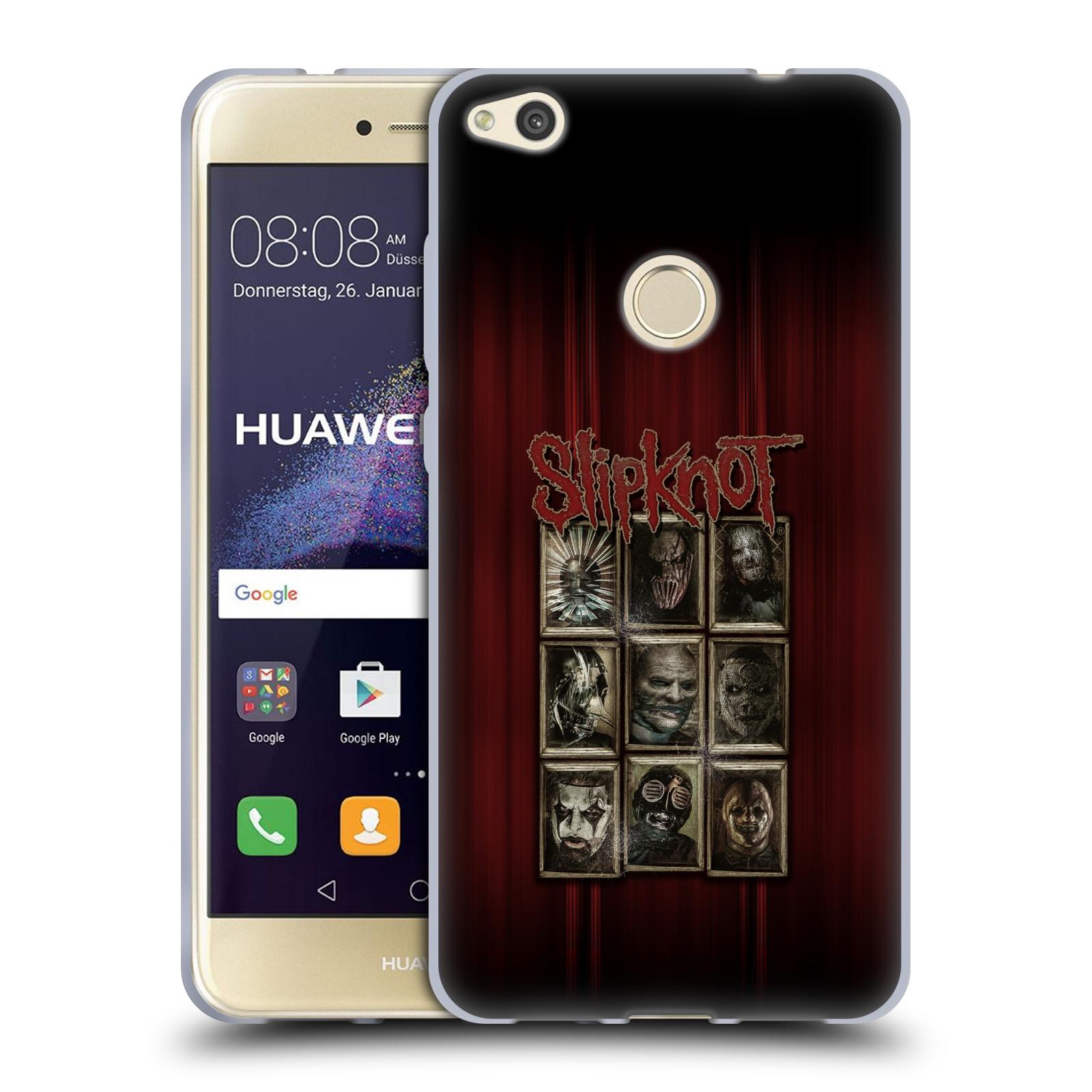 Silikonové pouzdro na mobil Honor 8 Lite - Head Case - Slipknot - Masky (Silikonový kryt či obal na mobilní telefon Honor 8 Lite s motivem Slipknot - Masky)