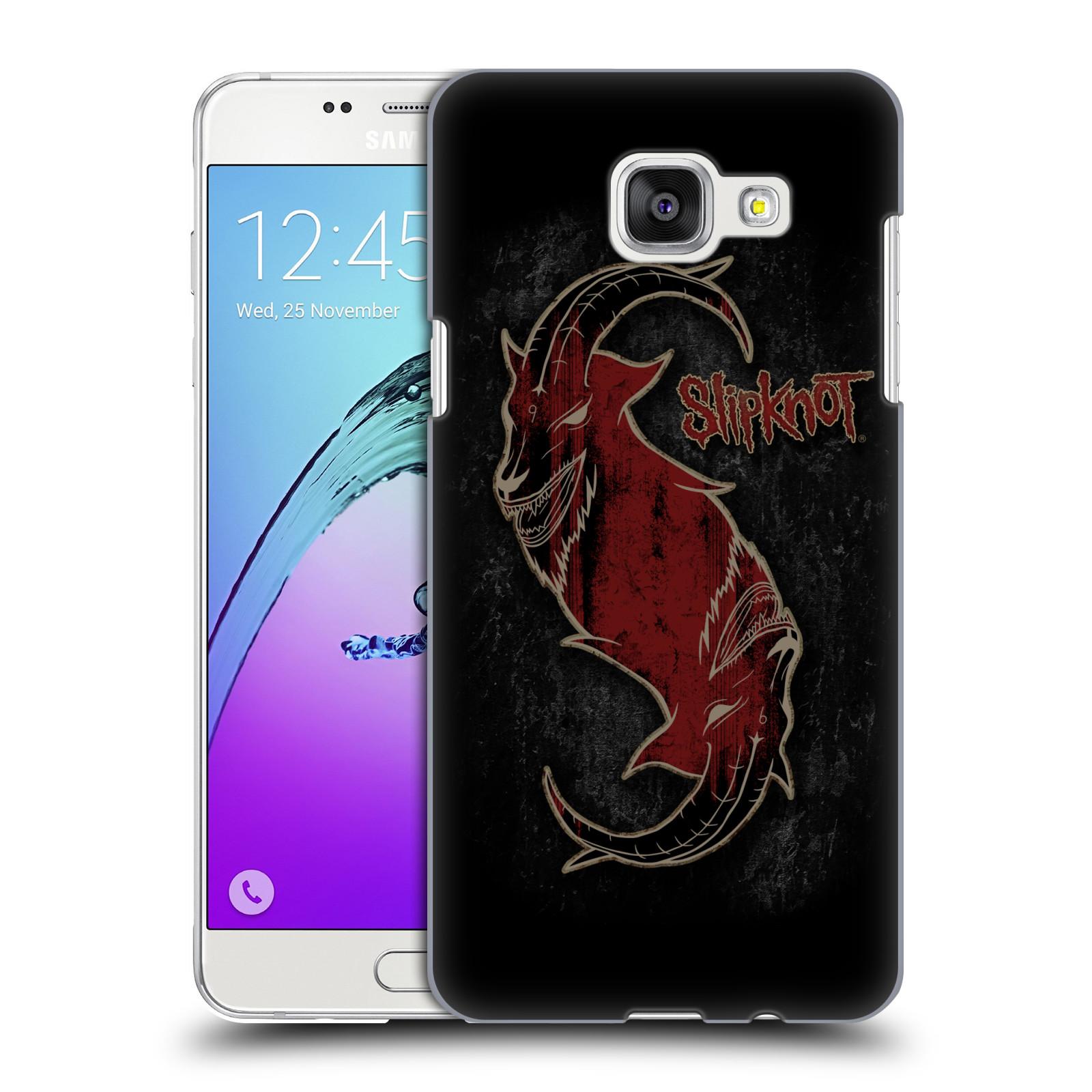 Plastové pouzdro na mobil Samsung Galaxy A5 (2016) HEAD CASE Slipknot - Rudý kozel