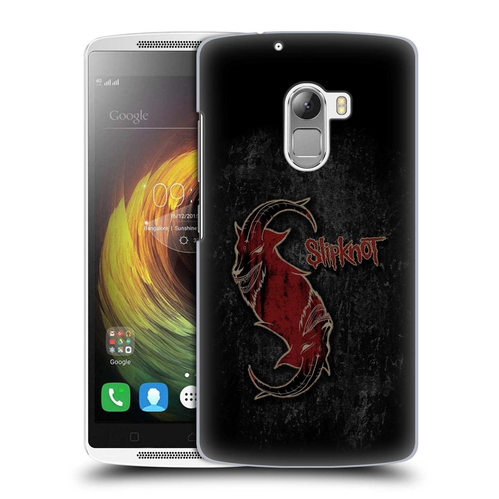 Plastové pouzdro na mobil Lenovo A7010 HEAD CASE Slipknot - Rudý kozel