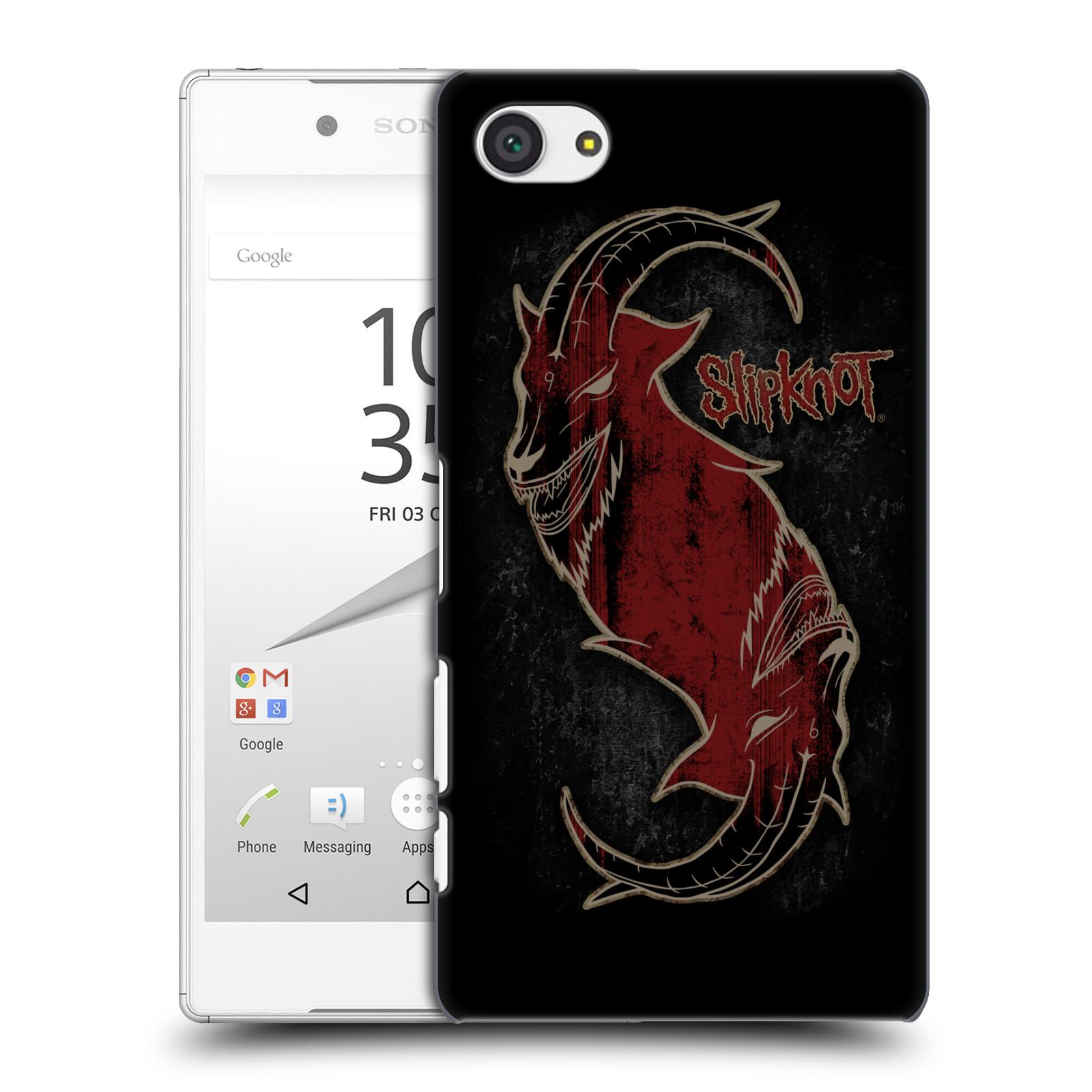 Plastové pouzdro na mobil Sony Xperia Z5 Compact HEAD CASE Slipknot - Rudý kozel