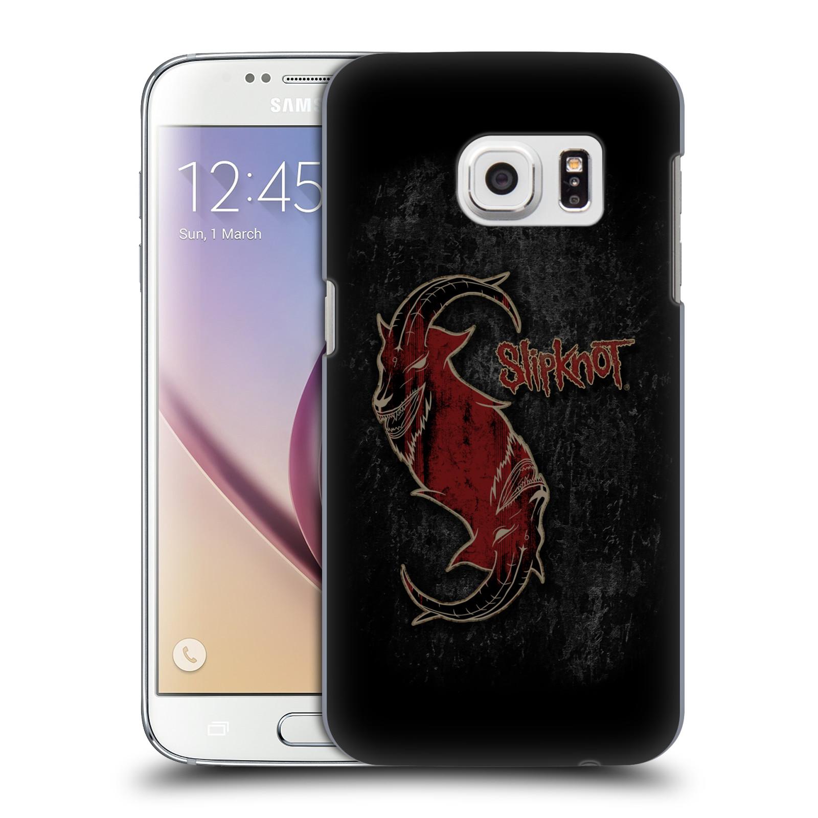 Plastové pouzdro na mobil Samsung Galaxy S7 HEAD CASE Slipknot - Rudý kozel