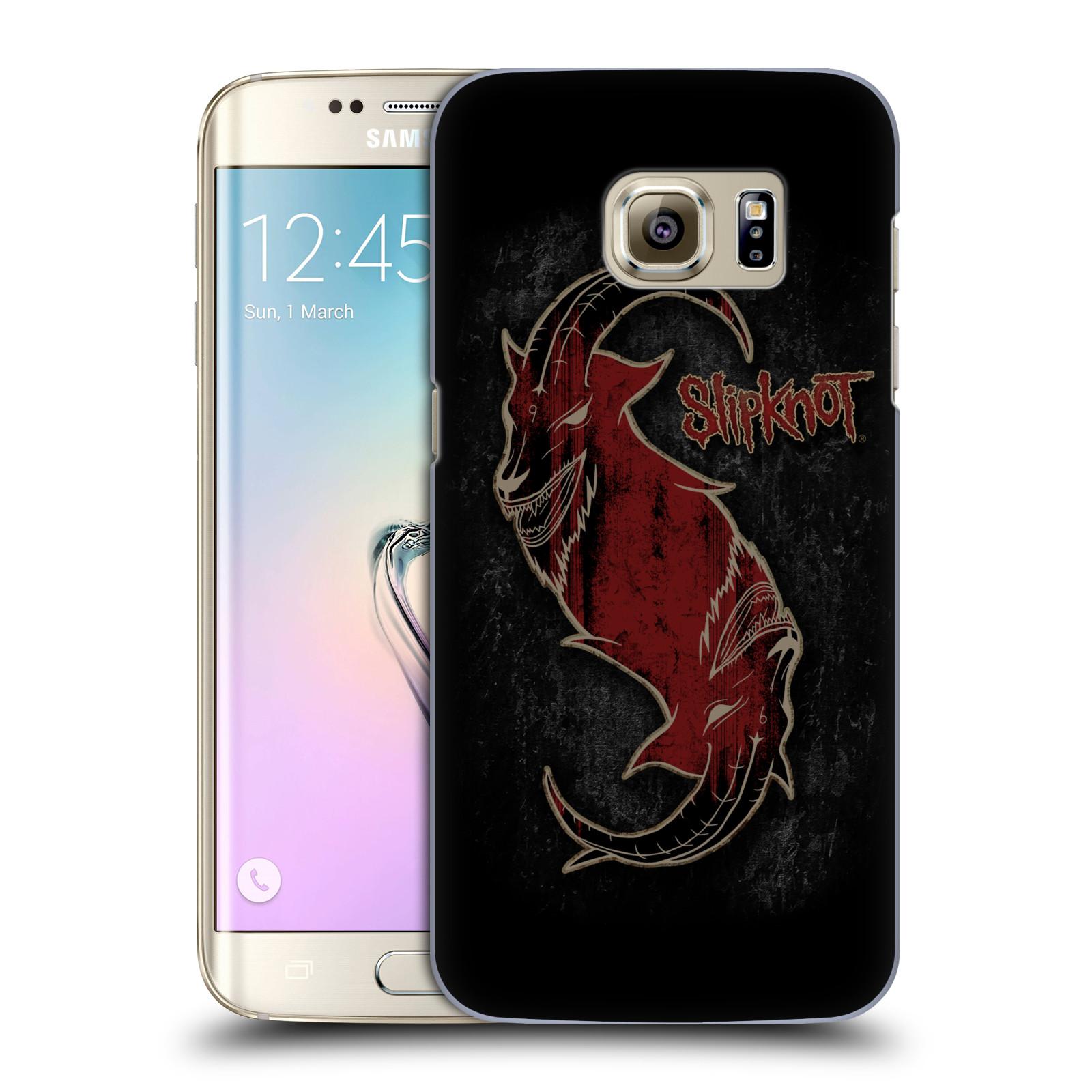 Plastové pouzdro na mobil Samsung Galaxy S7 Edge HEAD CASE Slipknot - Rudý kozel