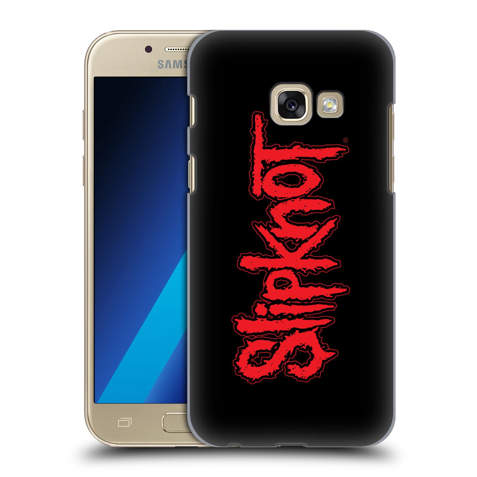 Plastové pouzdro na mobil Samsung Galaxy A3 (2017) HEAD CASE Slipknot - Logo