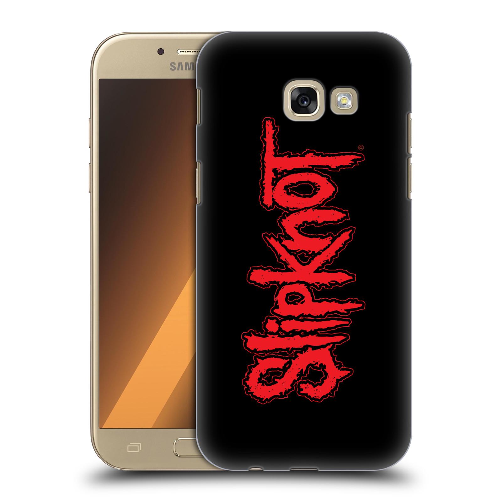 Plastové pouzdro na mobil Samsung Galaxy A5 (2017) HEAD CASE Slipknot - Logo