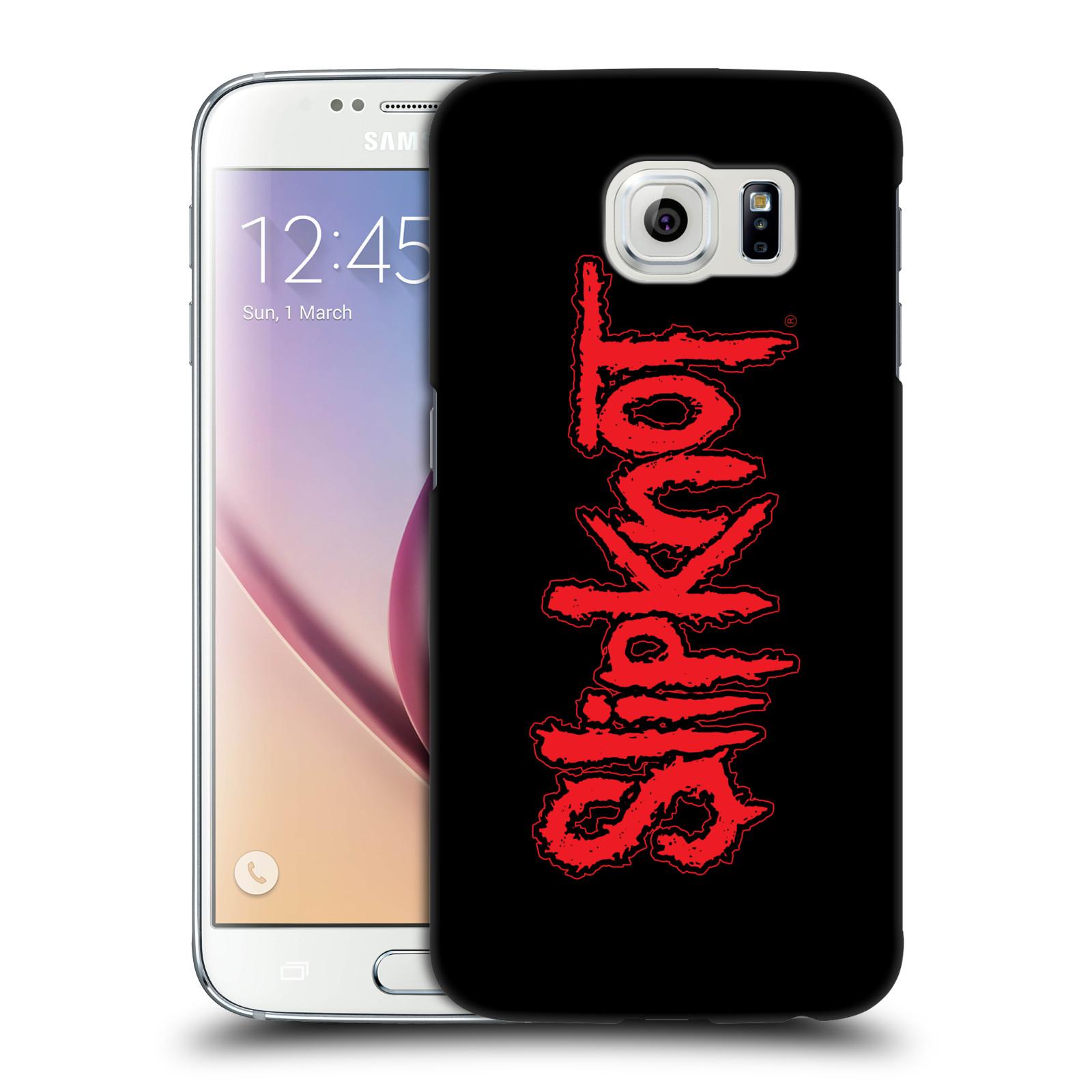 Plastové pouzdro na mobil Samsung Galaxy S6 HEAD CASE Slipknot - Logo