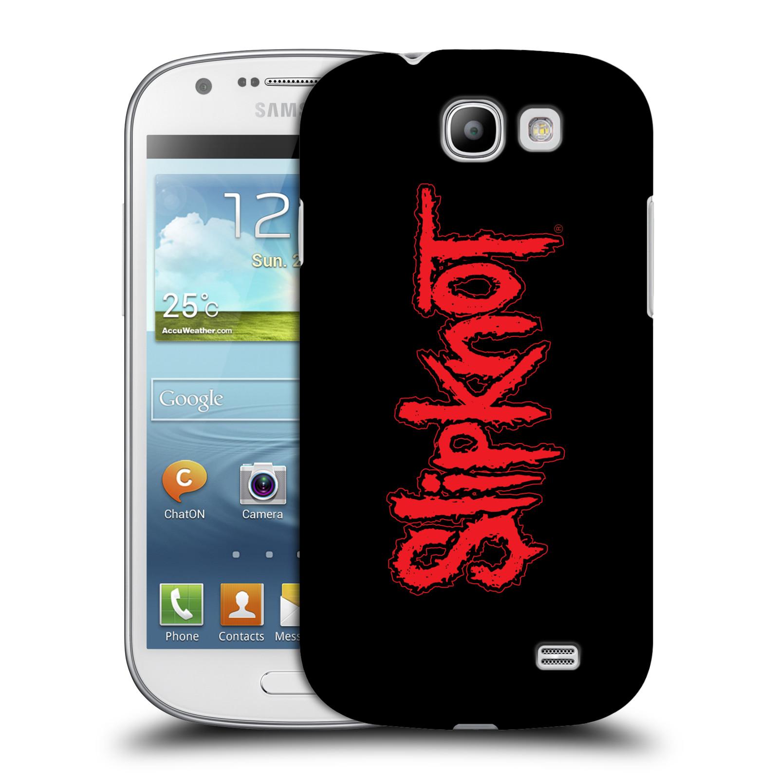 Plastové pouzdro na mobil Samsung Galaxy Express HEAD CASE Slipknot - Logo (Plastový kryt či obal na mobilní telefon licencovaným motivem Slipknot pro Samsung Galaxy Express GT-i8730)