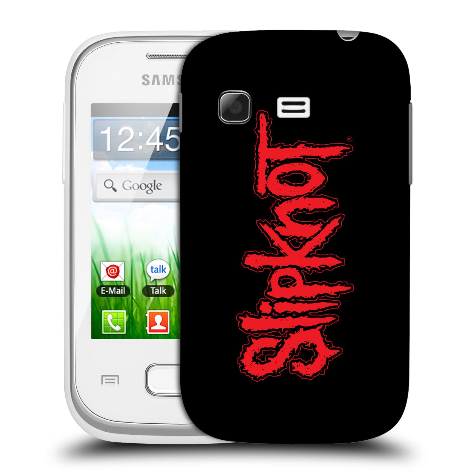 Plastové pouzdro na mobil Samsung Galaxy Pocket HEAD CASE Slipknot - Logo (Plastový kryt či obal na mobilní telefon licencovaným motivem Slipknot pro Samsung Galaxy Pocket GT-S5300)