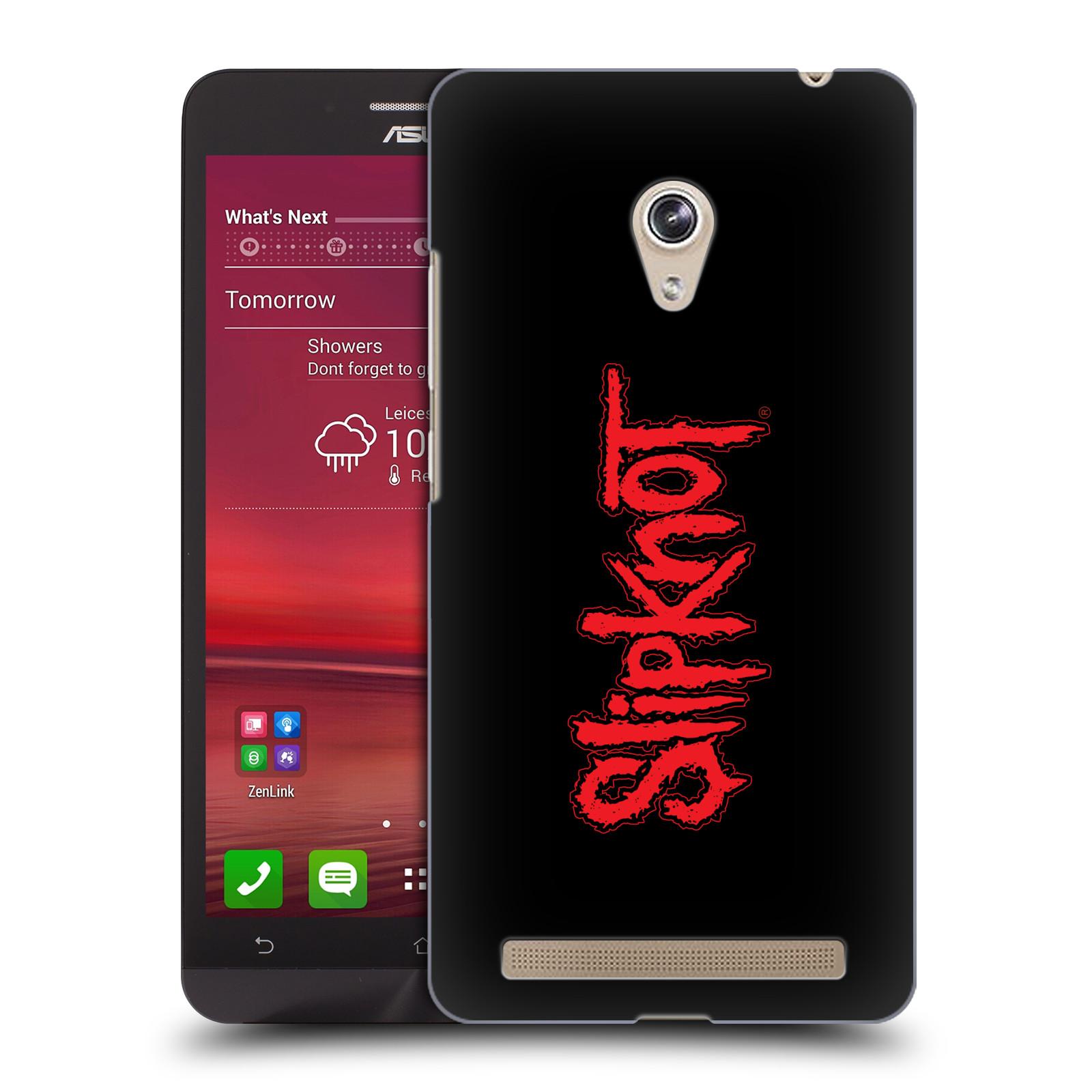 Plastové pouzdro na mobil Asus Zenfone 6 HEAD CASE Slipknot - Logo (Plastový kryt či obal na mobilní telefon licencovaným motivem Slipknot pro Asus Zenfone 6 A600CG / A601CG)
