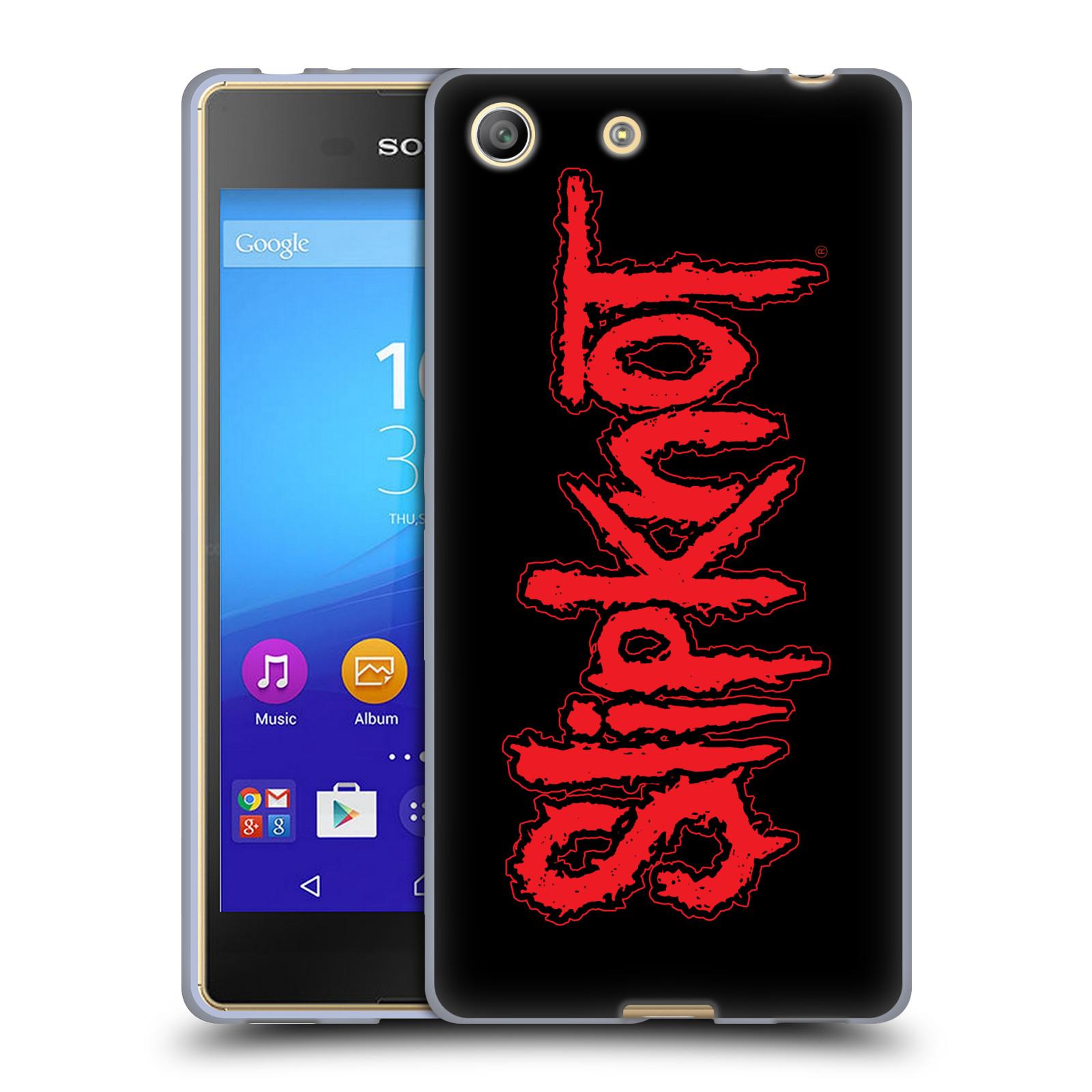 Silikonové pouzdro na mobil Sony Xperia M5 HEAD CASE Slipknot - Logo (Silikonový kryt či obal na mobilní telefon licencovaným motivem Slipknot pro Sony Xperia M5 Dual SIM / Aqua)