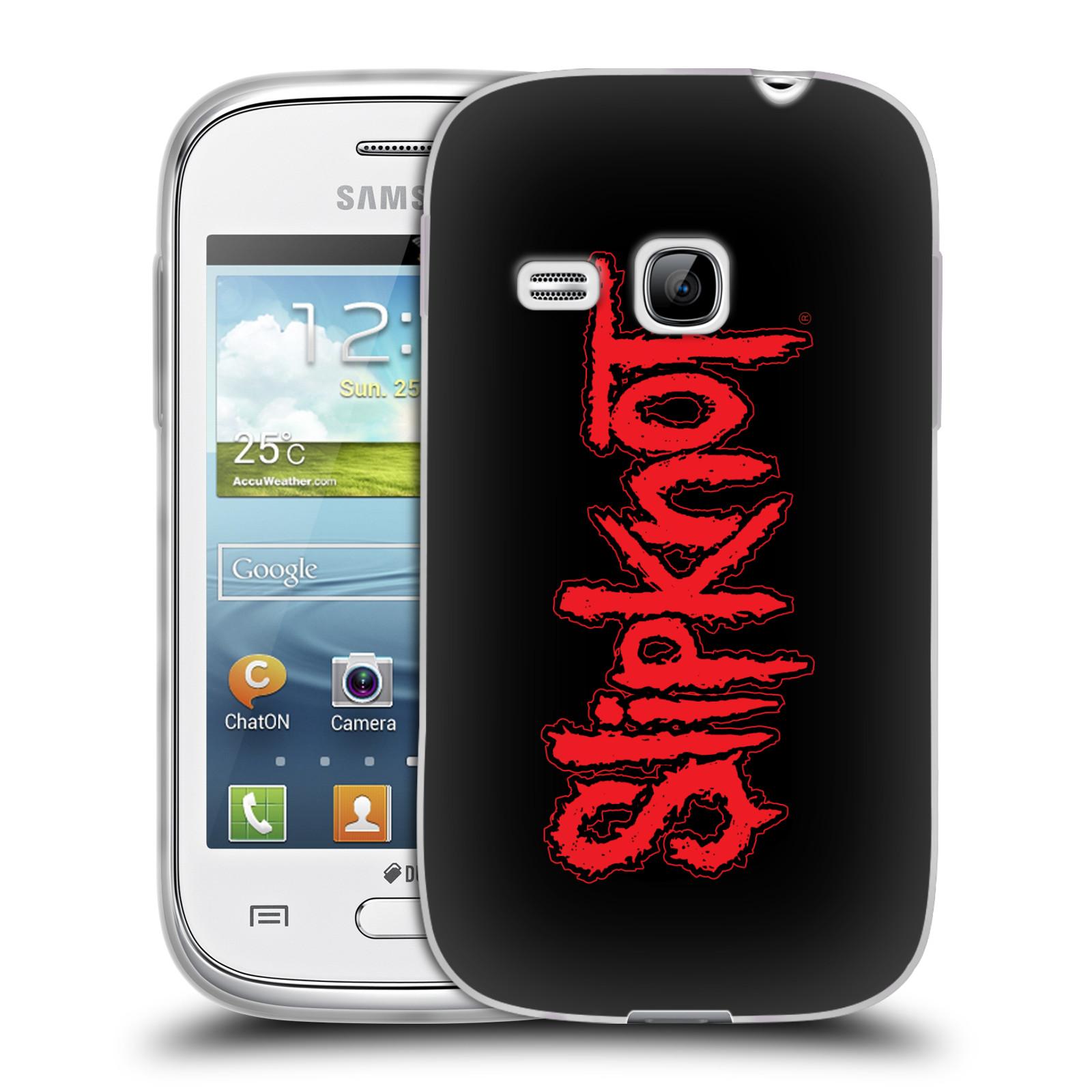 Silikonové pouzdro na mobil Samsung Galaxy Young HEAD CASE Slipknot - Logo (Silikonový kryt či obal na mobilní telefon licencovaným motivem Slipknot pro Samsung Galaxy Young GT-S6310)