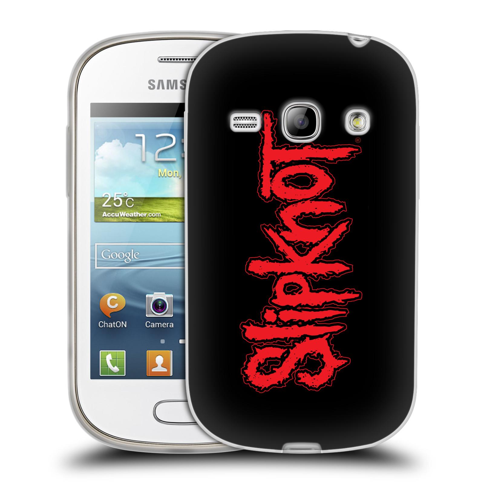 Silikonové pouzdro na mobil Samsung Galaxy Fame HEAD CASE Slipknot - Logo (Silikonový kryt či obal na mobilní telefon licencovaným motivem Slipknot pro Samsung Galaxy Fame GT-S6810)