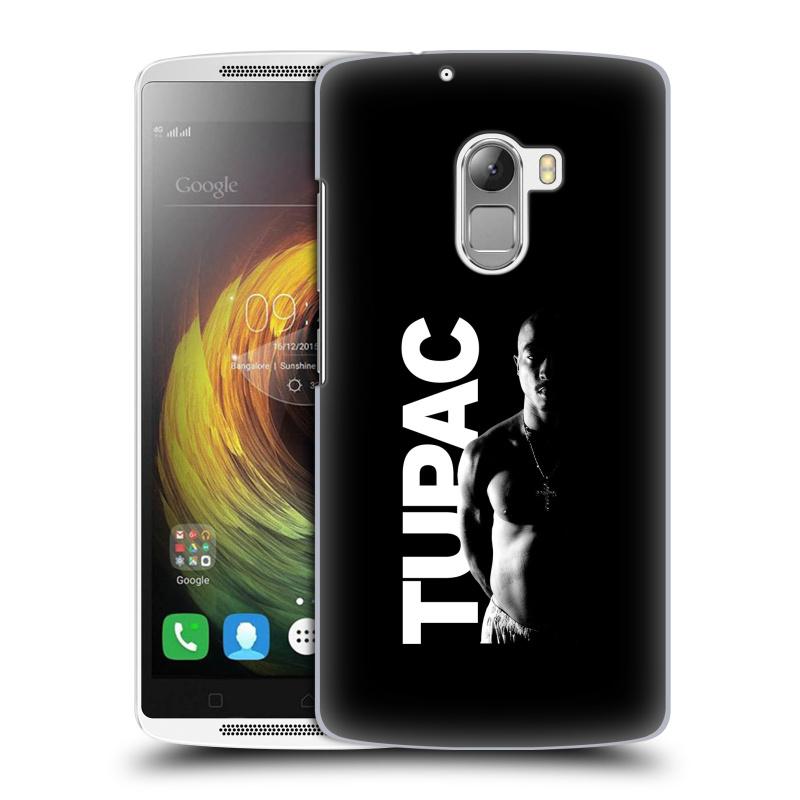 Plastové pouzdro na mobil Lenovo A7010 HEAD CASE TUPAC - Black and White