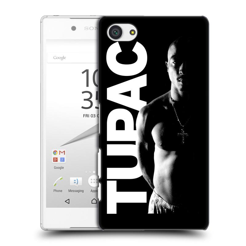 Plastové pouzdro na mobil Sony Xperia Z5 Compact HEAD CASE TUPAC - Black and White