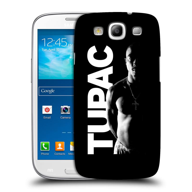 Plastové pouzdro na mobil Samsung Galaxy S3 Neo HEAD CASE TUPAC - Black and White (Plastový kryt či obal na mobilní telefon s oficiálním motivem rappera Tupaca Amaru Shakura pro Samsung Galaxy S3 Neo GT-i9301i)