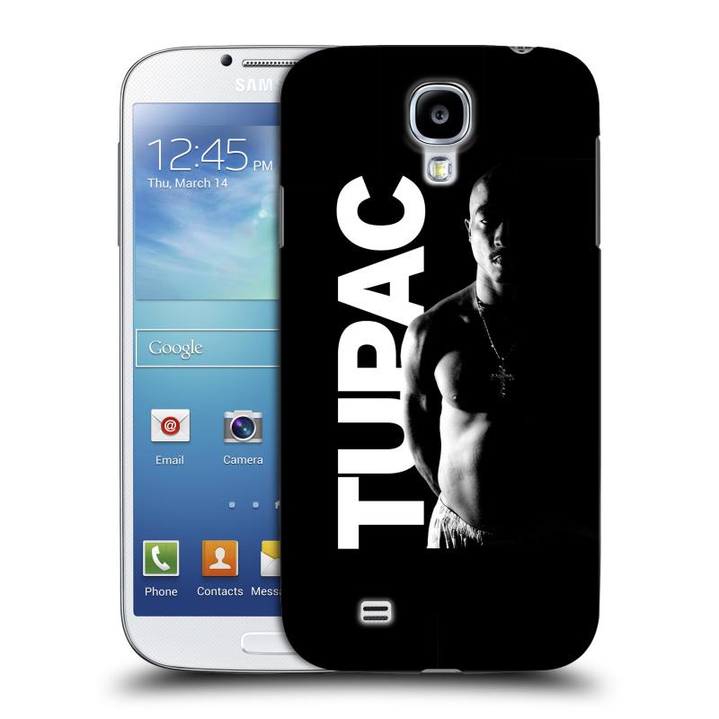 Plastové pouzdro na mobil Samsung Galaxy S4 HEAD CASE TUPAC - Black and White (Plastový kryt či obal na mobilní telefon s oficiálním motivem rappera Tupaca Amaru Shakura pro Samsung Galaxy S4 GT-i9505 / i9500)