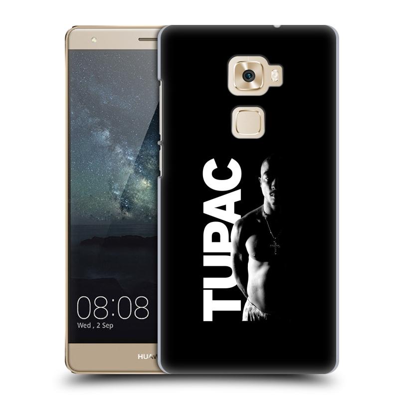 Plastové pouzdro na mobil Huawei Mate S HEAD CASE TUPAC - Black and White (Plastový kryt či obal na mobilní telefon s oficiálním motivem rappera Tupaca Amaru Shakura pro Huawei Mate S)