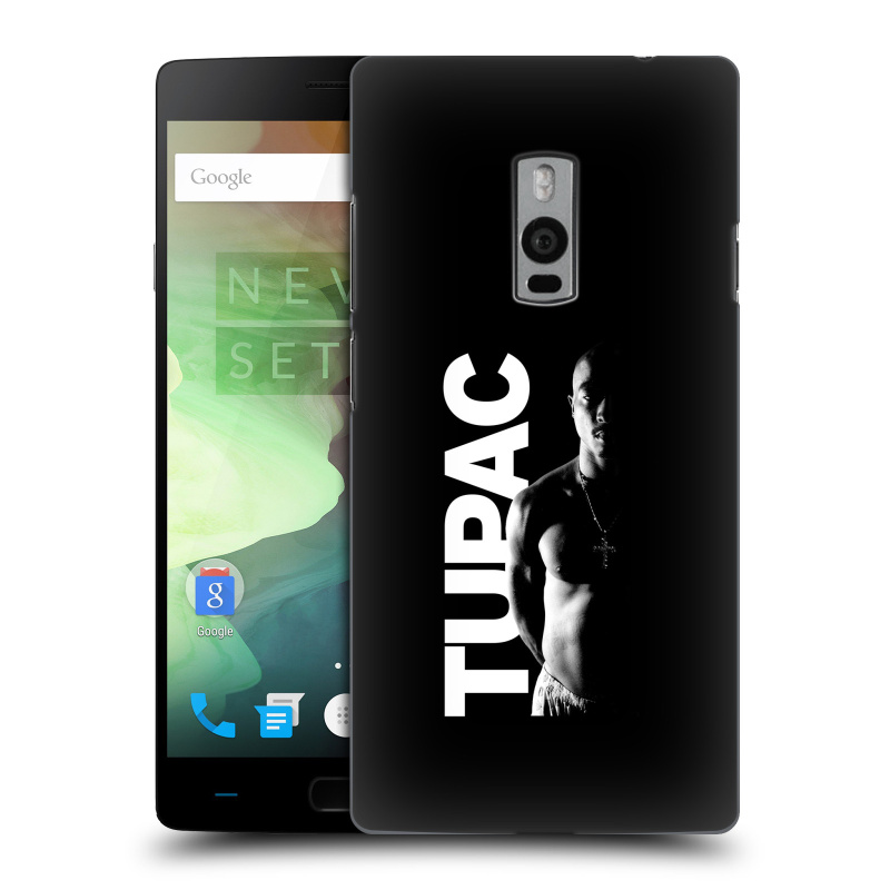 Plastové pouzdro na mobil OnePlus Two HEAD CASE TUPAC - Black and White (Plastový kryt či obal na mobilní telefon s oficiálním motivem rappera Tupaca Amaru Shakura pro OnePlus Two)