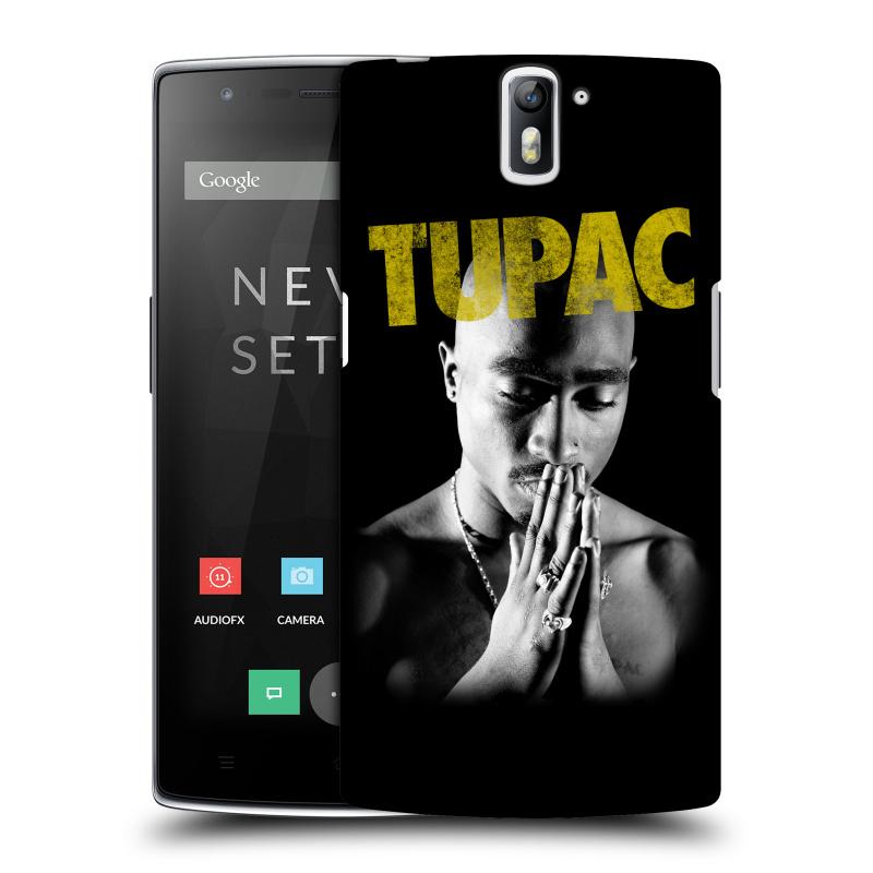 Plastové pouzdro na mobil OnePlus One HEAD CASE TUPAC - Golden