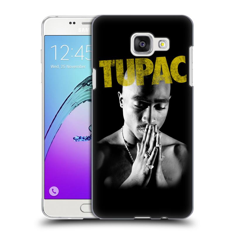 Plastové pouzdro na mobil Samsung Galaxy A5 (2016) HEAD CASE TUPAC - Golden