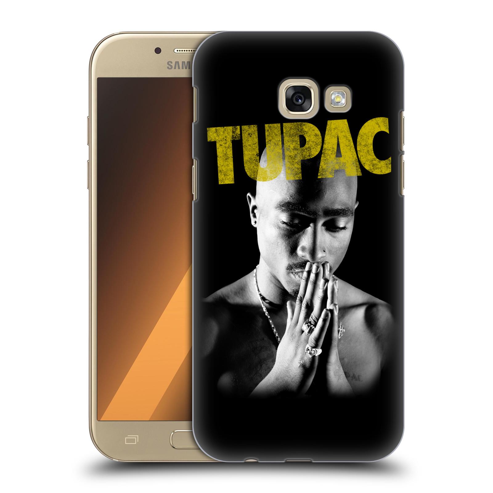Plastové pouzdro na mobil Samsung Galaxy A5 (2017) HEAD CASE TUPAC - Golden
