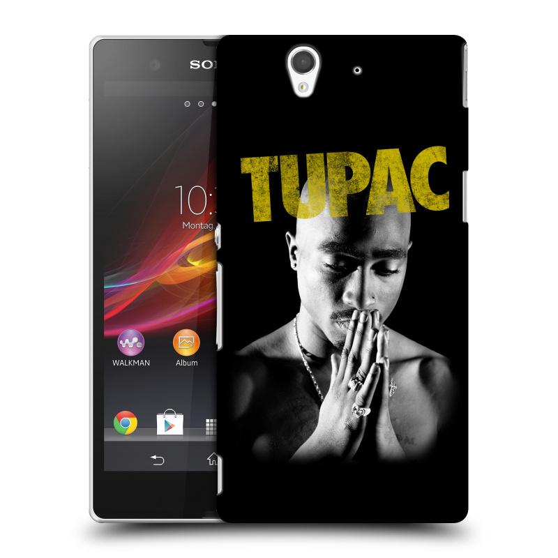 Plastové pouzdro na mobil Sony Xperia Z C6603 HEAD CASE TUPAC - Golden