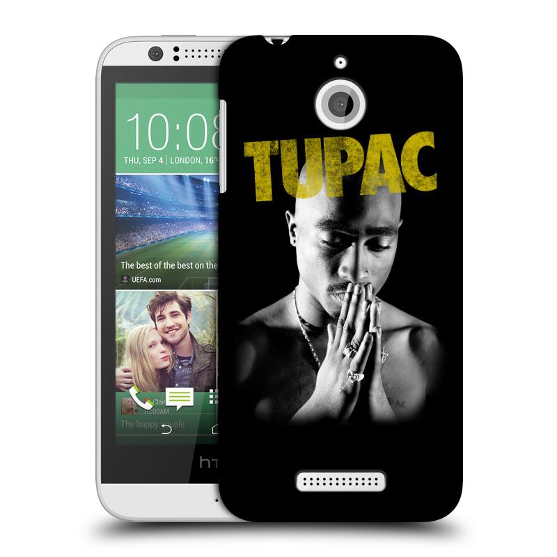 Plastové pouzdro na mobil HTC Desire 510 HEAD CASE TUPAC - Golden