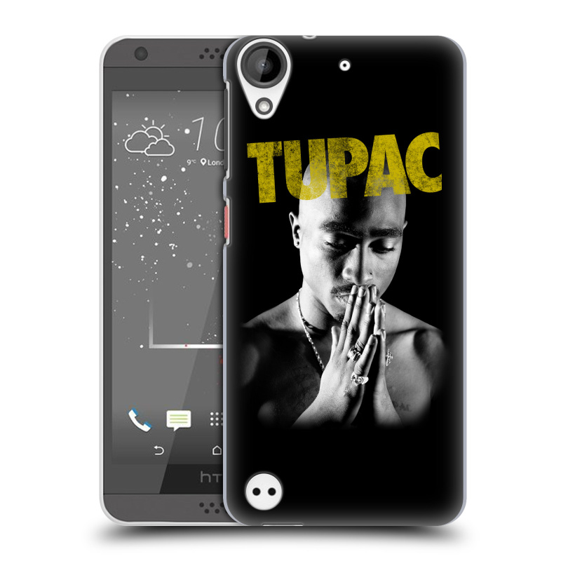 Plastové pouzdro na mobil HTC Desire 530 HEAD CASE TUPAC - Golden