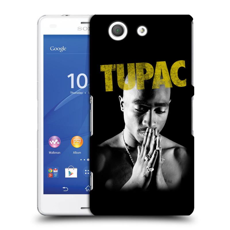 Plastové pouzdro na mobil Sony Xperia Z3 Compact D5803 HEAD CASE TUPAC - Golden