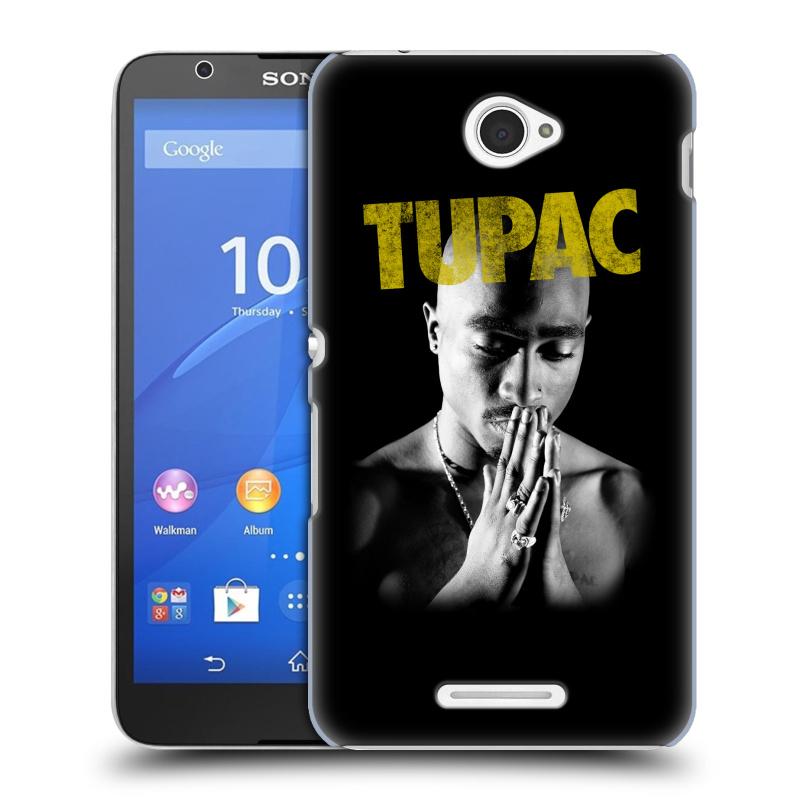 Plastové pouzdro na mobil Sony Xperia E4 E2105 HEAD CASE TUPAC - Golden