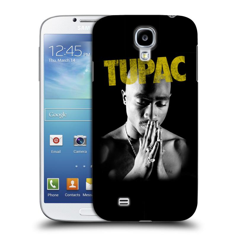 Plastové pouzdro na mobil Samsung Galaxy S4 HEAD CASE TUPAC - Golden (Plastový kryt či obal na mobilní telefon s oficiálním motivem rappera Tupaca Amaru Shakura pro Samsung Galaxy S4 GT-i9505 / i9500)