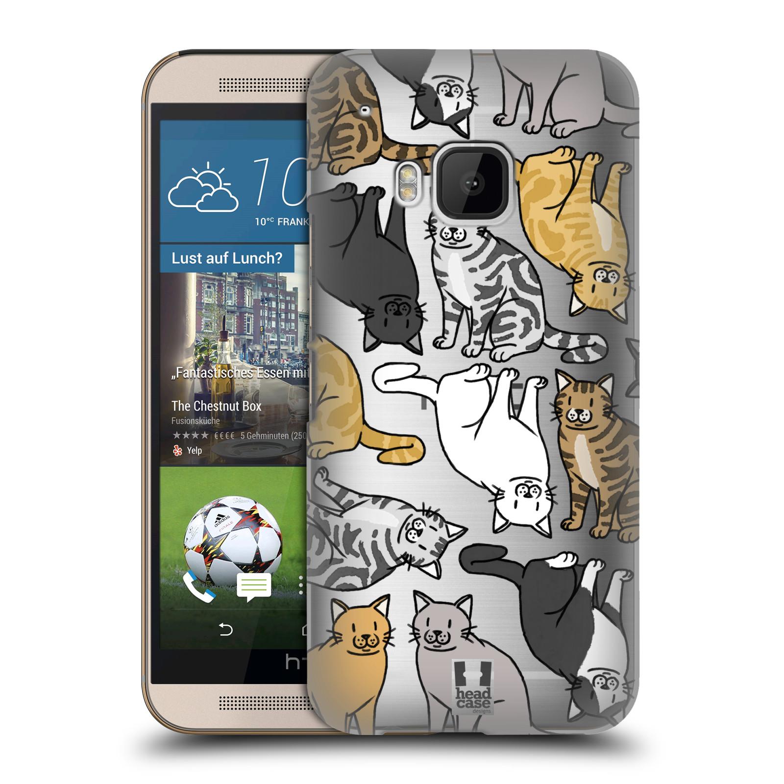 Plastové pouzdro na mobil HTC ONE M9 - Head Case - Americká krátkosrstá kočička
