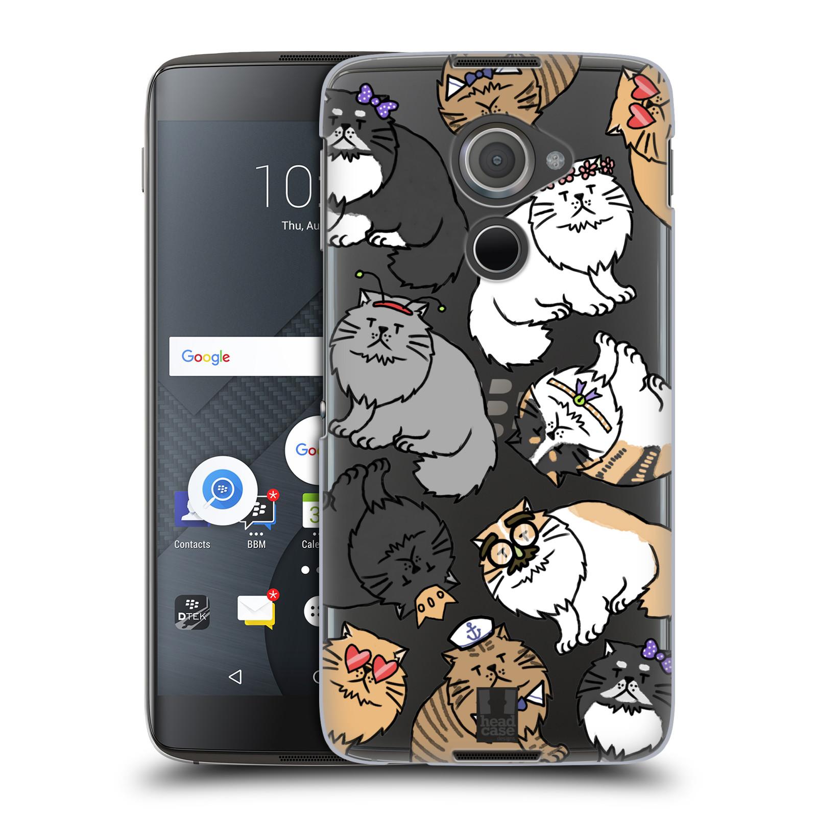 Plastové pouzdro na mobil Blackberry DTEK60 (Argon) - Head Case - Perská kočka (Plastový kryt či obal na mobilní telefon s motivem kočiček pro Blackberry DTEK60 (Argon))