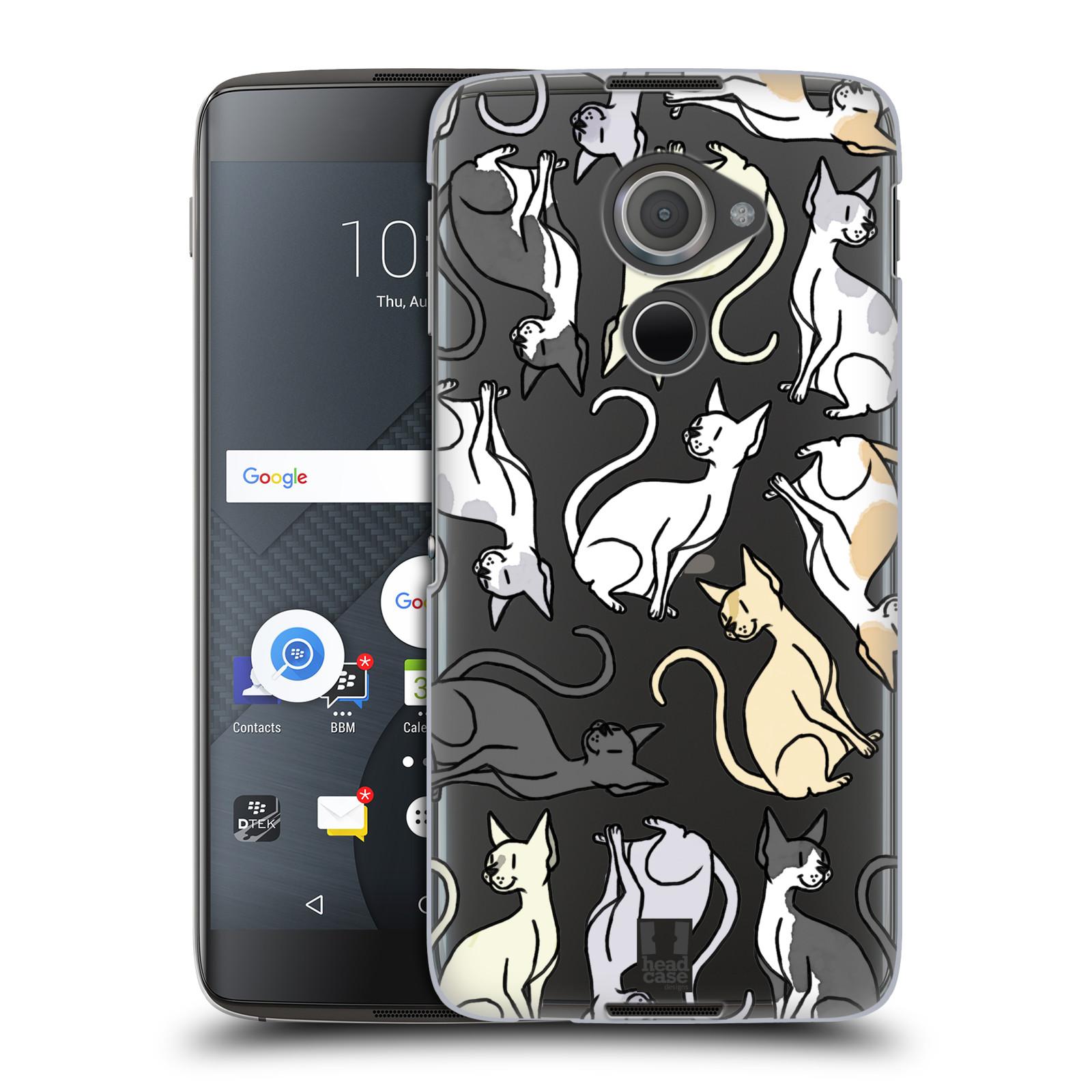 Plastové pouzdro na mobil Blackberry DTEK60 (Argon) - Head Case - Sphynx kočka (Plastový kryt či obal na mobilní telefon s motivem kočiček pro Blackberry DTEK60 (Argon))