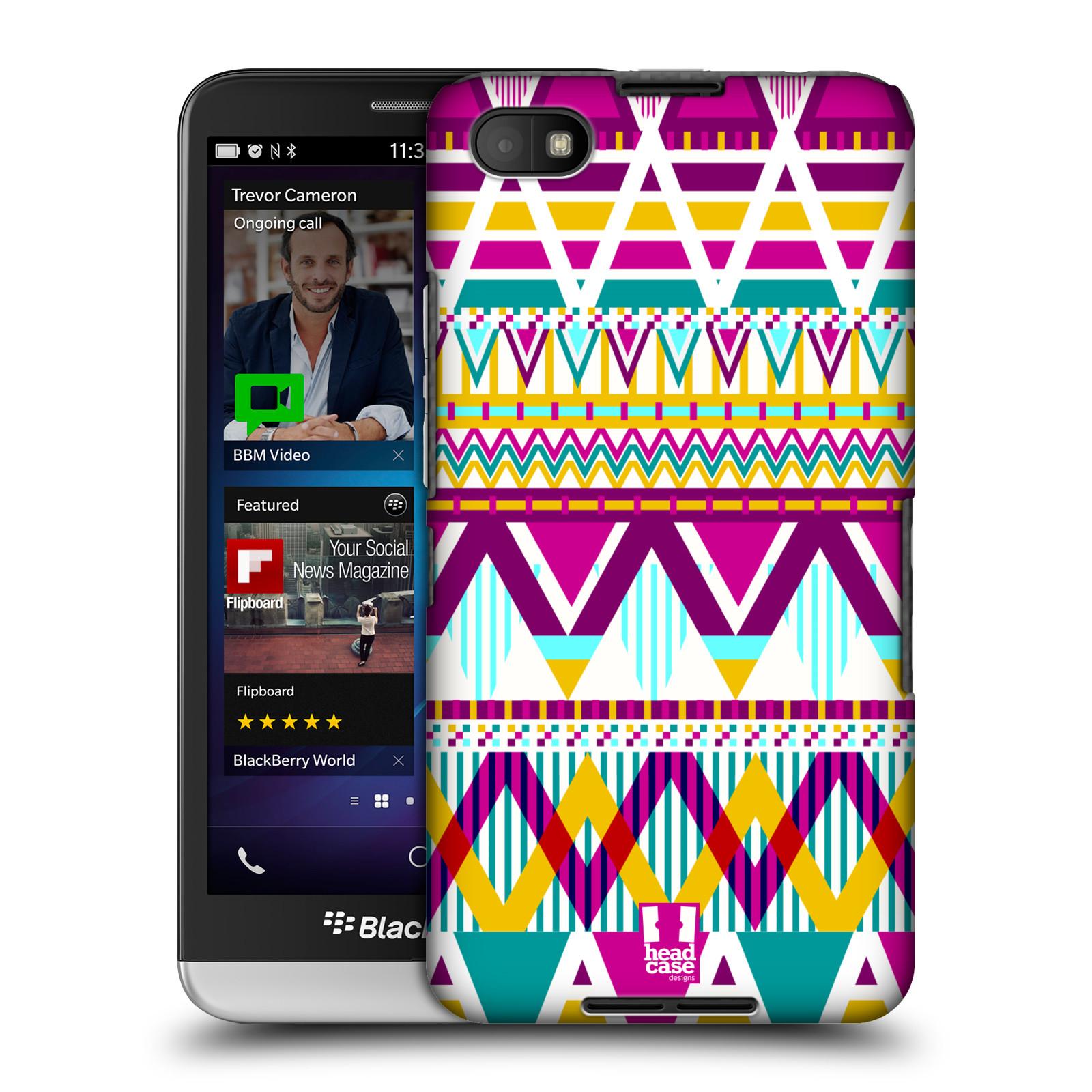 Plastové pouzdro na mobil Blackberry Z30 HEAD CASE AZTEC SUGARED (Kryt či obal na mobilní telefon Blackberry Z30)