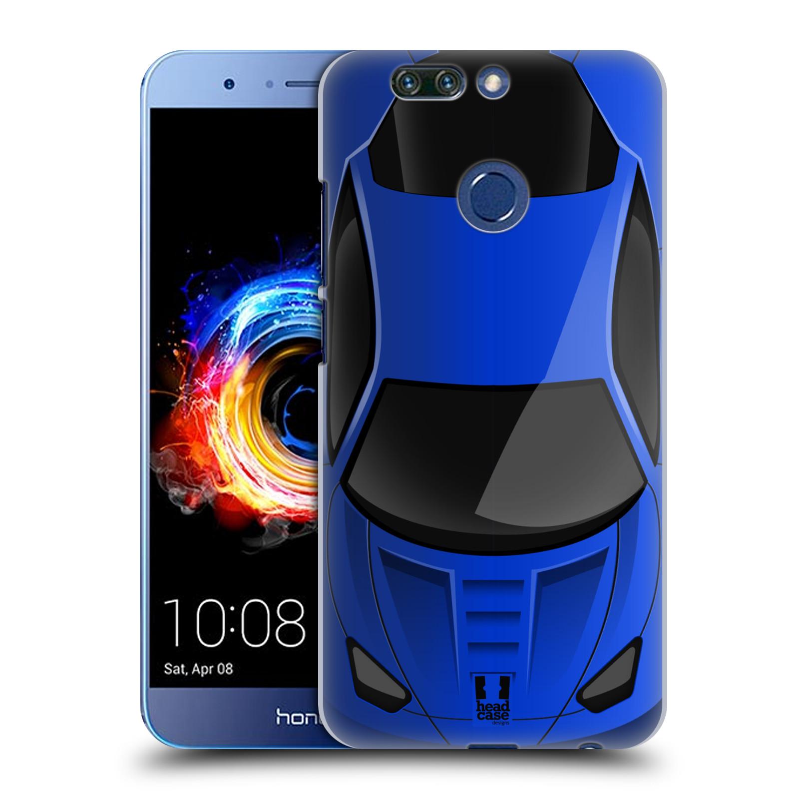 Plastové pouzdro na mobil Honor 8 Pro - Head Case - AUTO MODRÉ (Plastový kryt či obal na mobilní telefon Honor 8 Pro s motivem AUTO MODRÉ)