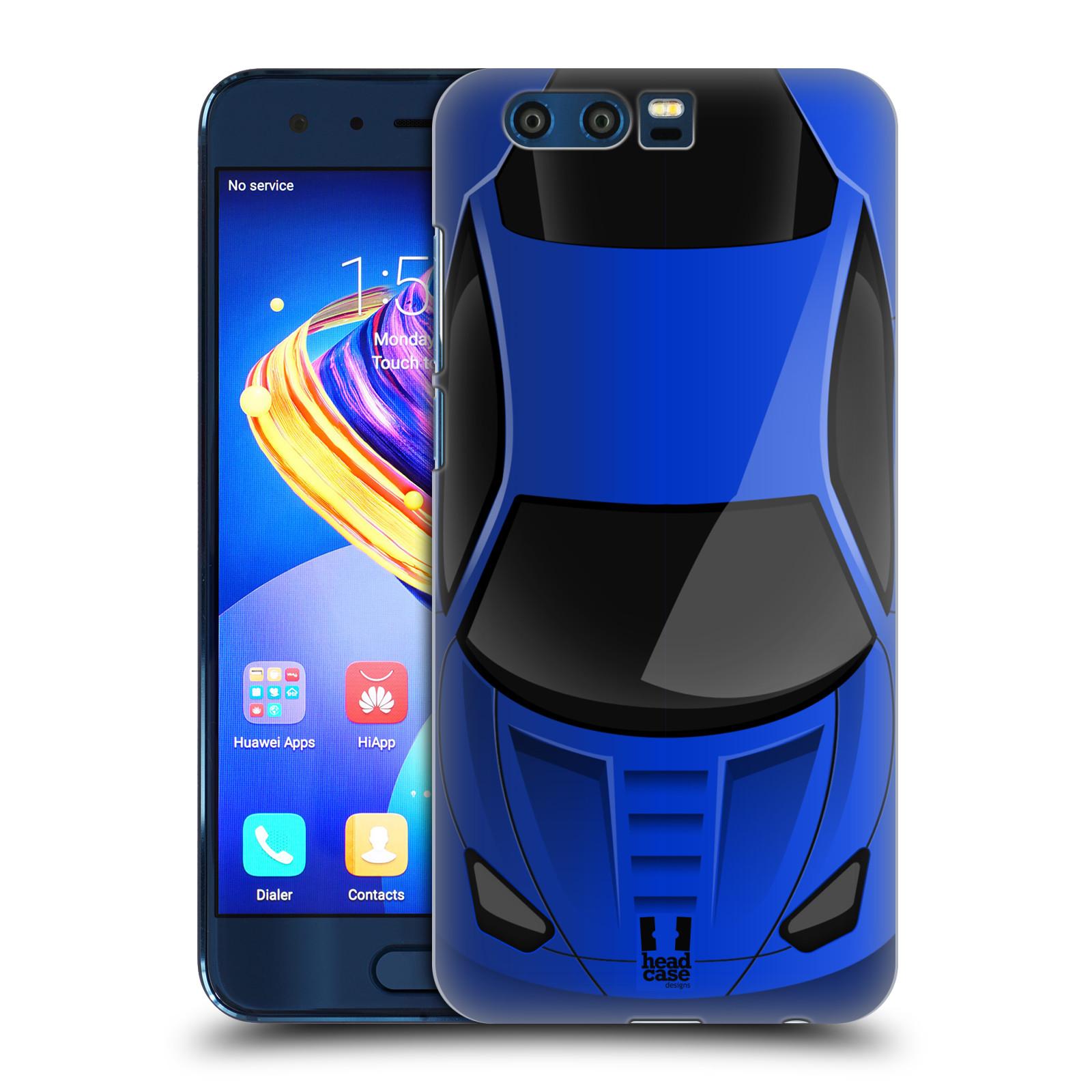 Plastové pouzdro na mobil Honor 9 - Head Case - AUTO MODRÉ (Plastový kryt či obal na mobilní telefon Honor 9 s motivem AUTO MODRÉ)
