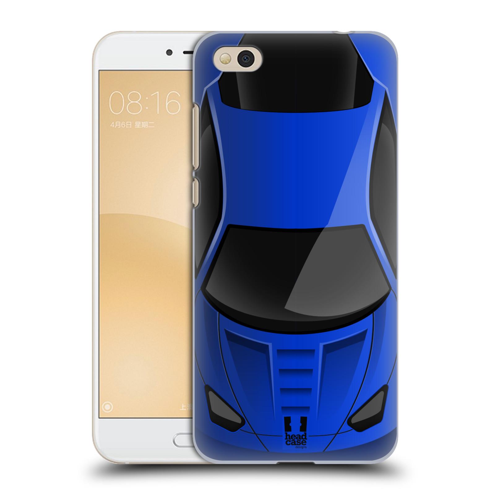 Plastové pouzdro na mobil Xiaomi Mi5c - Head Case - AUTO MODRÉ (Plastový kryt či obal na mobilní telefon Xiaomi Mi5c s motivem AUTO MODRÉ)