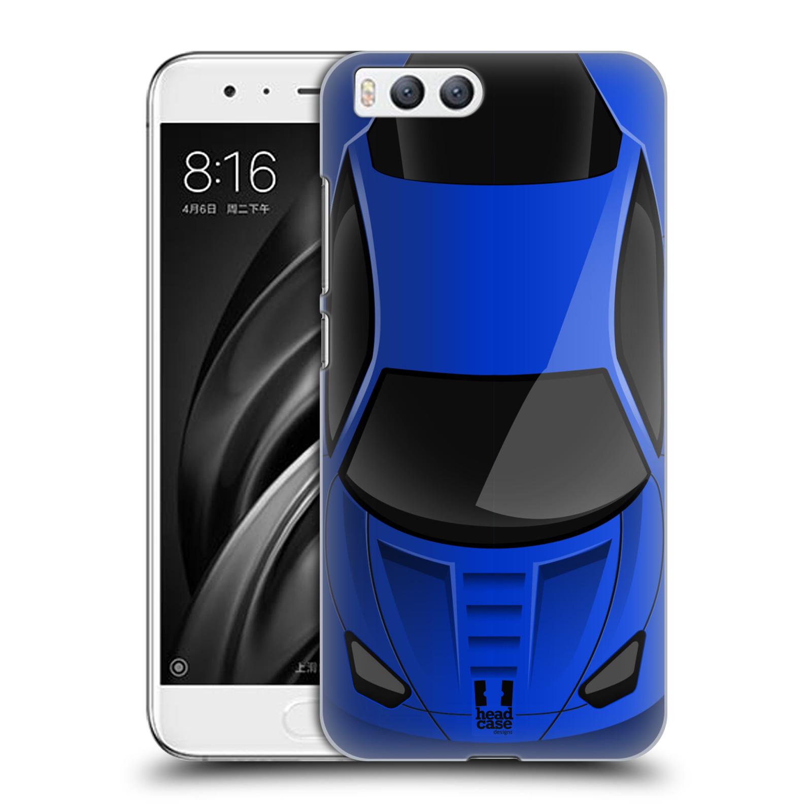 Plastové pouzdro na mobil Xiaomi Mi6 - Head Case - AUTO MODRÉ (Plastový kryt či obal na mobilní telefon Xiaomi Mi6 s motivem AUTO MODRÉ)