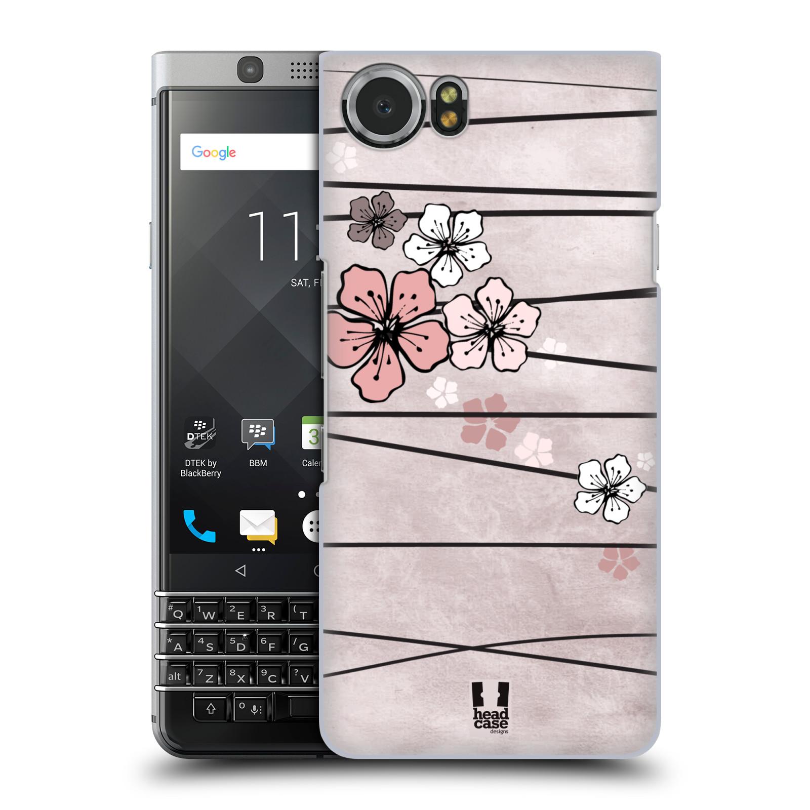 Plastové pouzdro na mobil BlackBerry KEYone - Head Case - BLOSSOMS PAPER
