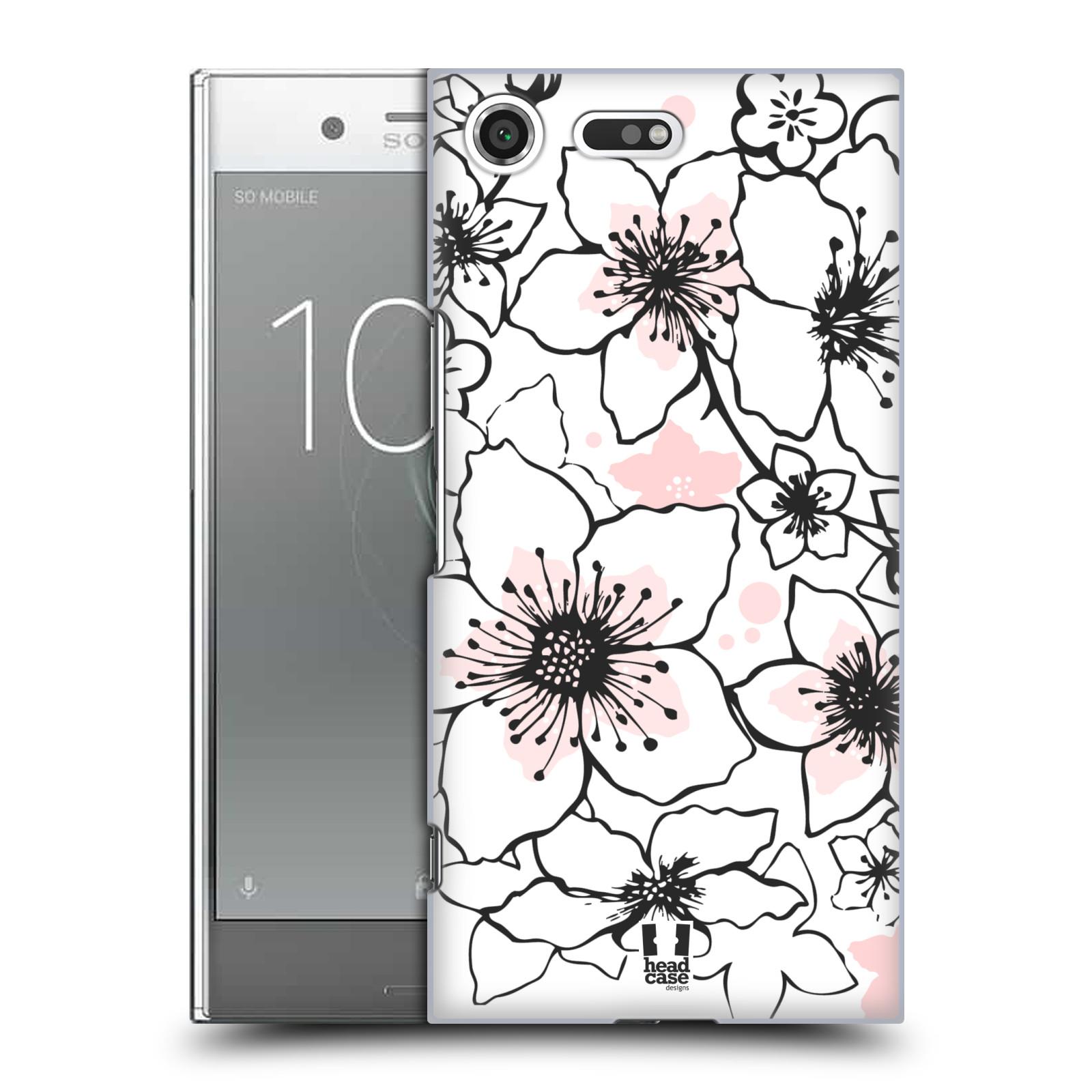 Plastové pouzdro na mobil Sony Xperia XZ Premium Head Case - BLOSSOMS SPRINGTIME (Plastový kryt či obal na mobilní telefon Sony Xperia XZ Premium G8142)